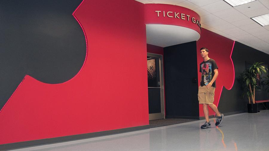 Ticket Galaxy Facade
