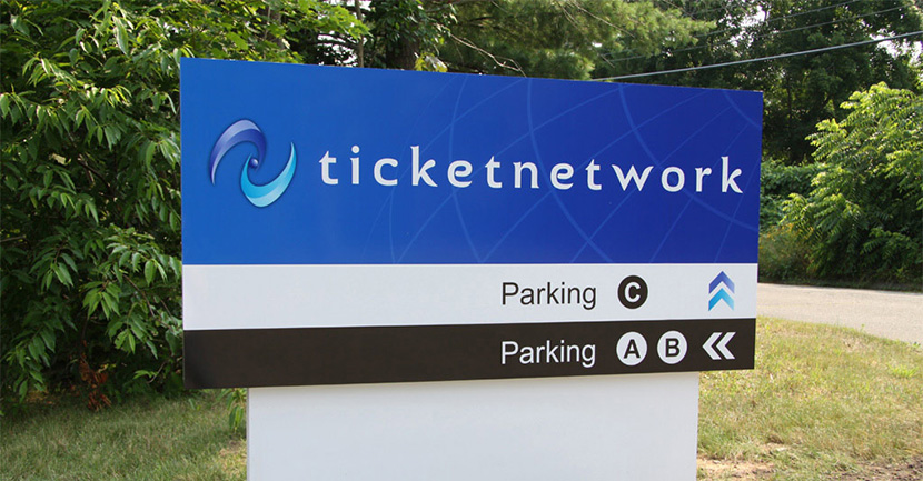 Ticket Network Campus Signage