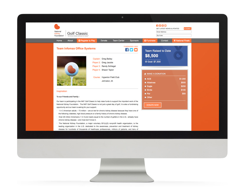 NKF Website Team Page