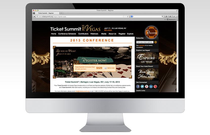 Ticket Summit Website