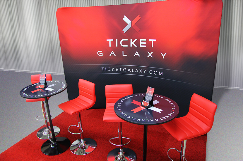 Ticket Galaxy Trade Show Booth
