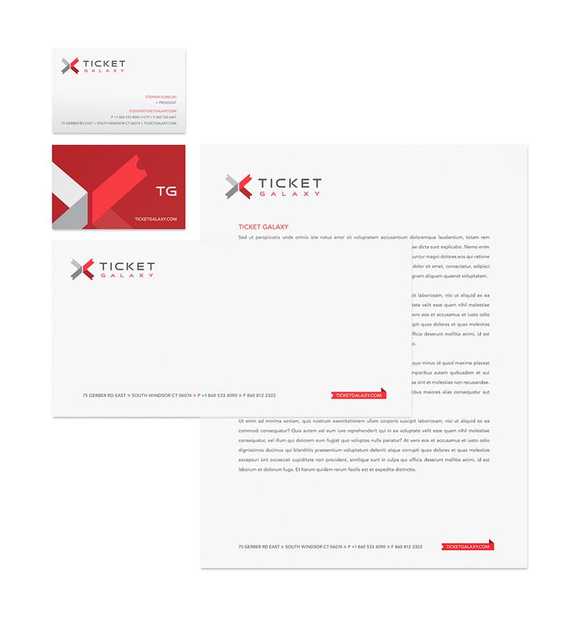 Ticket Galaxy Stationery
